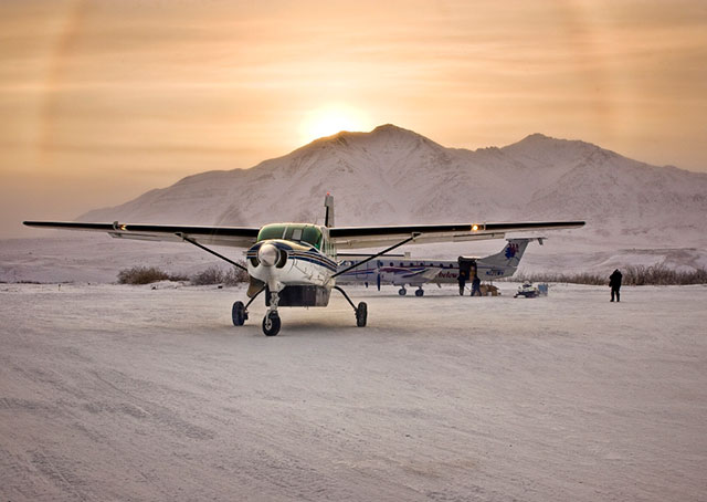 Anaktuvuk Pass Airport in Alaska is on the list of cold temperature restricted airports.
