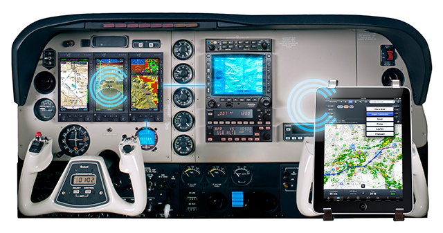 Aspen receives a patent for its Connected Panel technology. Image courtesy of Aspen Avionics.