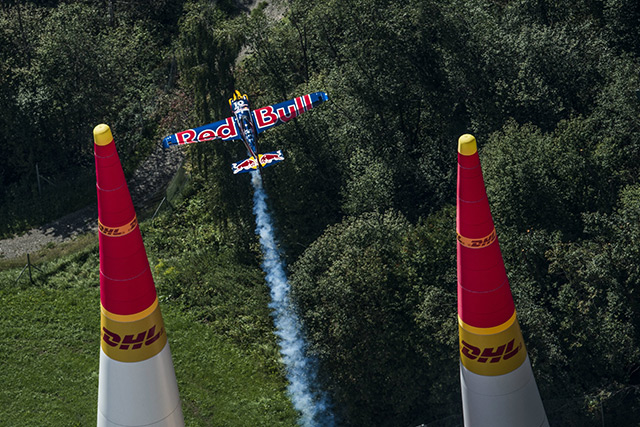 Watch Kirby Chambliss, pictured here in Spielberg, Austria, compete at the Red Bull Air Race World Championship in Las Vegas Oct. 17 and 18. Photo by Joerg Mitter/Red Bull Content Pool.