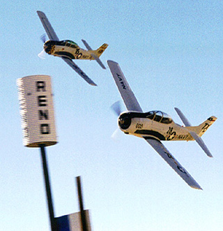 Trojan Phlyers at Reno Air Race