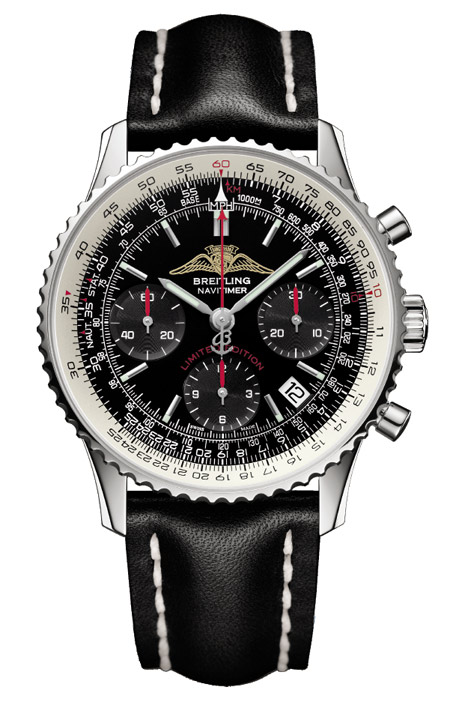 Bid on the Breitling Seventy-Fifth Anniversary Limited Edition AOPA Navitimer.