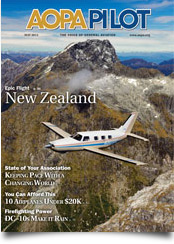 Pilot Magazine Cover May 2012