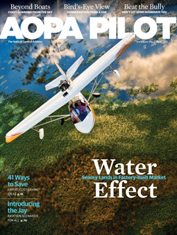 Pilot Magazine Cover April 2013