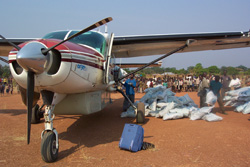 Air Serv International in Darfur