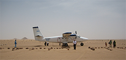 Air Serv International use aircraft that can utilize short runways