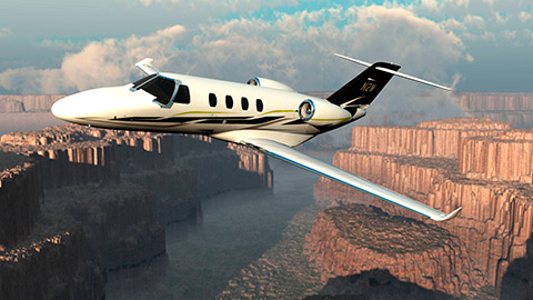 Cessna Citation M2 jet