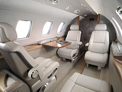 Cessna Citation M2 cabin