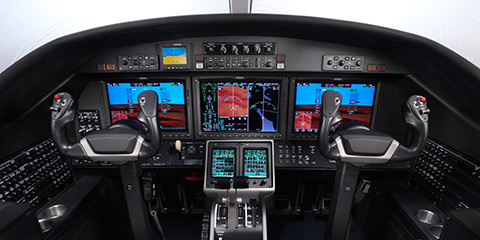 Cessna Citation M2 panel