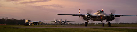 b25s ready for takeoff