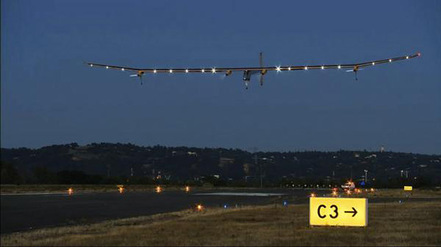 Solar Impulse - Toulouse 2012