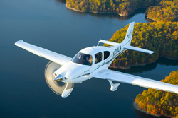 AOPA's 2009 Let's Go Flying Sweepstakes airplane - Cirrus SR22