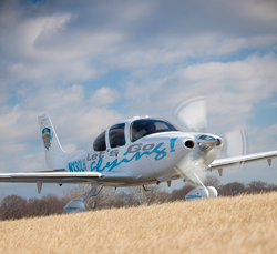 New Let's Go Flying Cirrus vinyl graphics