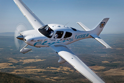 Let's Go Flying Cirrus with new vinyl graphics