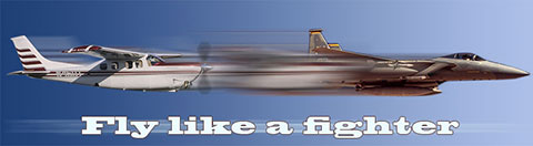 Fly like a fighter