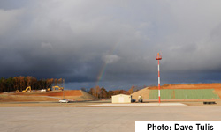 Paulding County Regional airport; Photo courtesy of David Tulis.